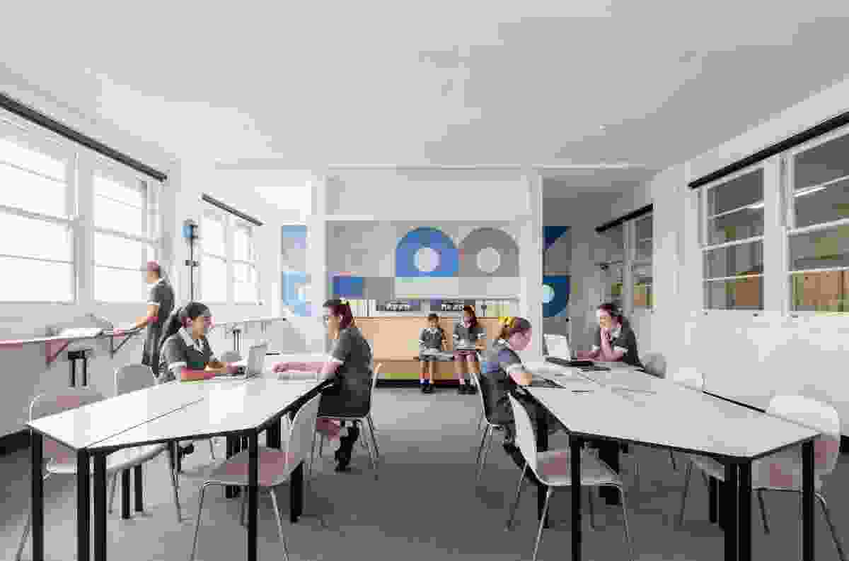 Kambala Agile Learning Space by Tribe Studio Architects.