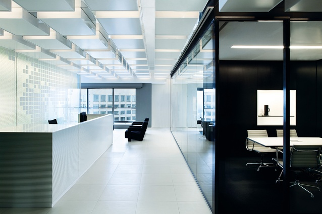 Boston Consulting Group in Melbourne by Carr Design Group.