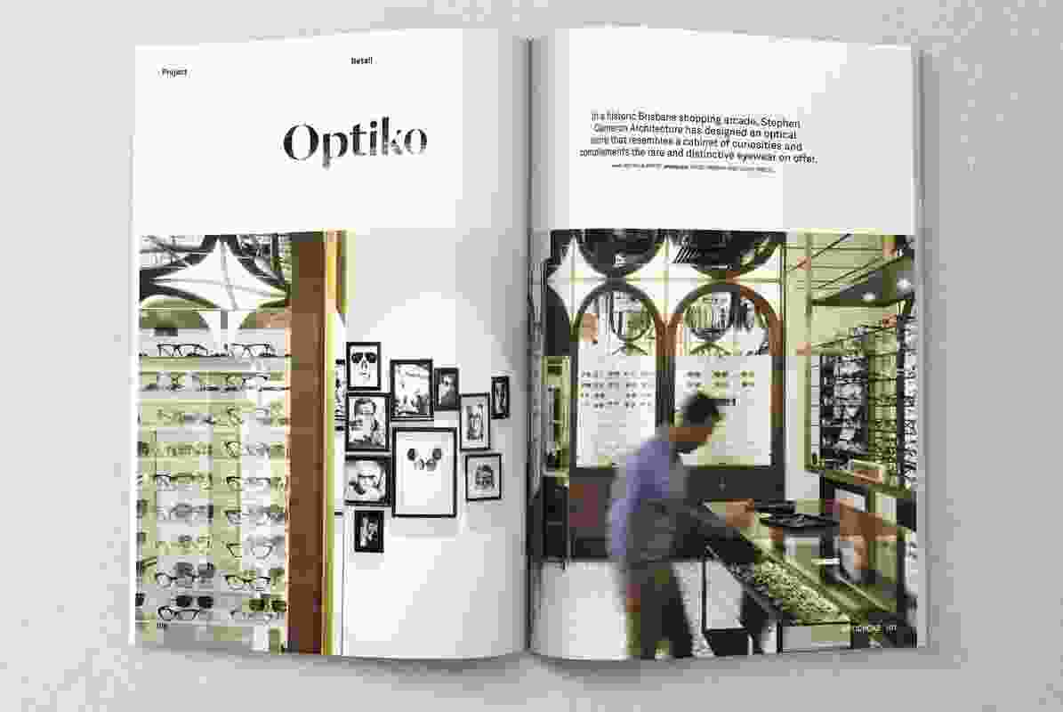 Optiko by Stephen Cameron Architecture.