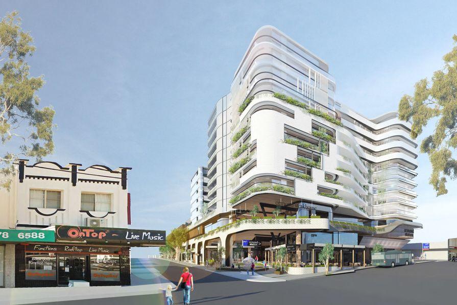 Proposed Ormond Place development designed by Clarke Hopkins Clarke.