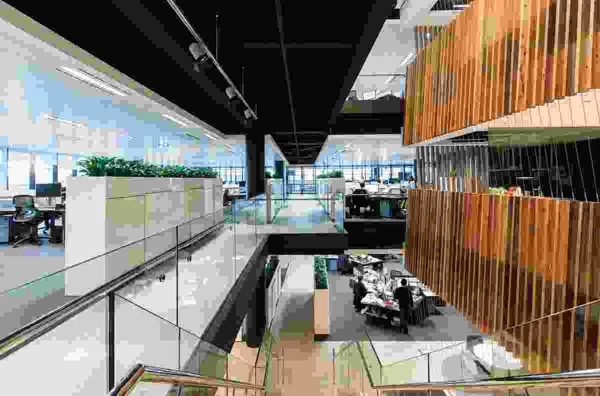 TransGrid Sydney Office by Bates Smart