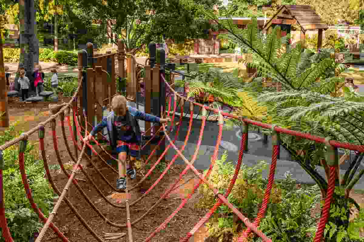 Roma Street Parkland and Children's Garden by Lat27 and Playscape Creations.