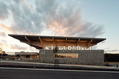 Kingborough Community Hub by March Studio.