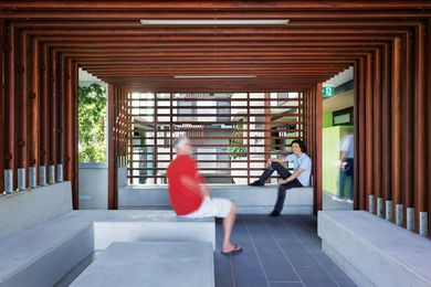 Constance Street Affordable Housing by Cox Rayner creates active spaces for people to interact.