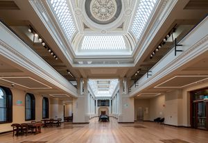 Ian Potter Queen's Hall by Architectus and Schmidt Hammer Lassen.