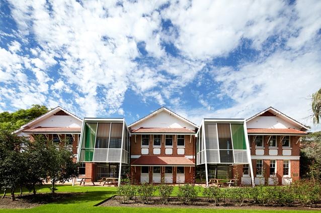 Wesley College Ward & Kefford Refurbishment by Taylor Robinson.