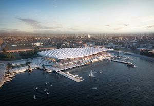 Sydney Fish Market by 3XN in partnership with BVN and Aspect Studios.