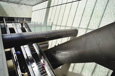 Bras Basah Mass Rapid Transit Station.