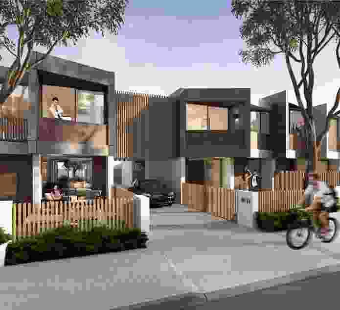 Terraces winner: Platform Architects.