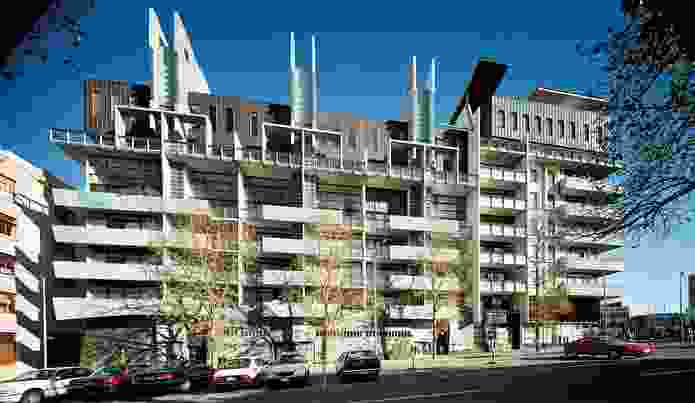Melbourne Terrace Apartments, Nonda Katsalidis (1994).