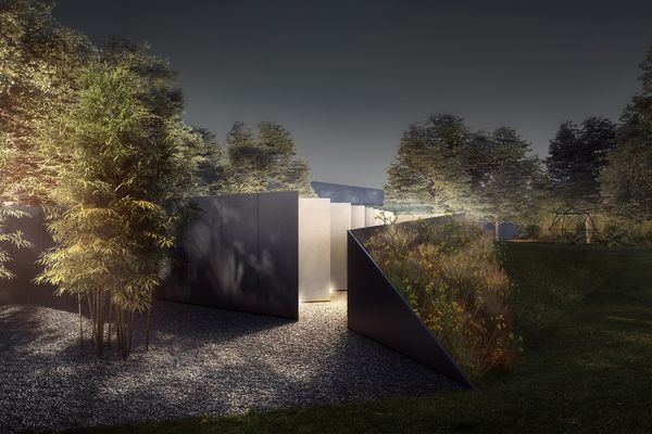 Doubleground, the winning proposal for the 2018 NGV Architecture Commission by Muir Architecture and Openwork.