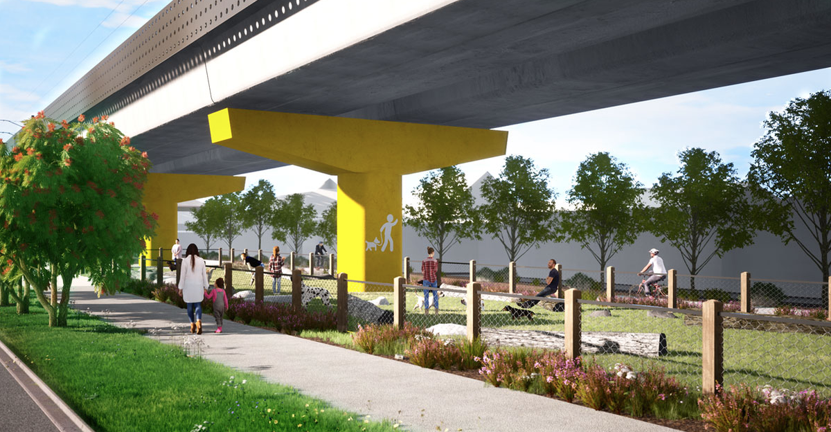 New public spaces will be built as part of the project.
