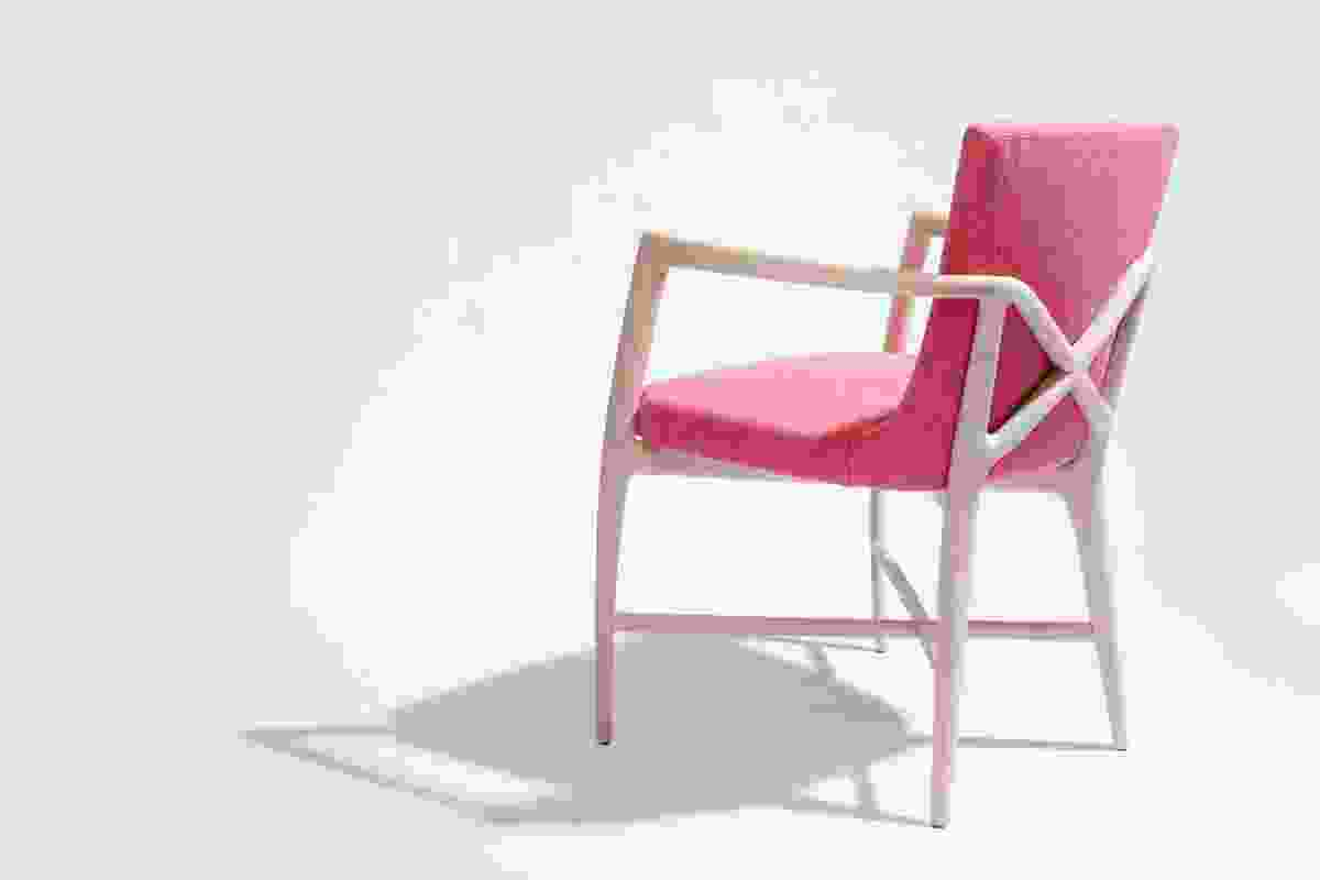 Shanghai armchair by William Sawaya for Sawaya & Moroni.