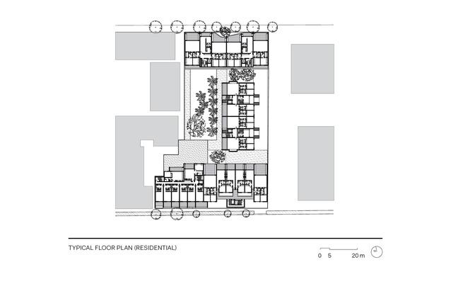 Casba typical floor plan