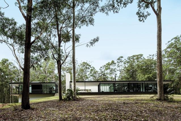 Windywoppa (NSW) by Collins Caddaye Architects.