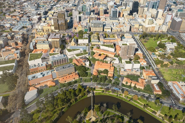 New 20 year adelaide uni masterplan unveiled architectureau for 31 north terrace adelaide