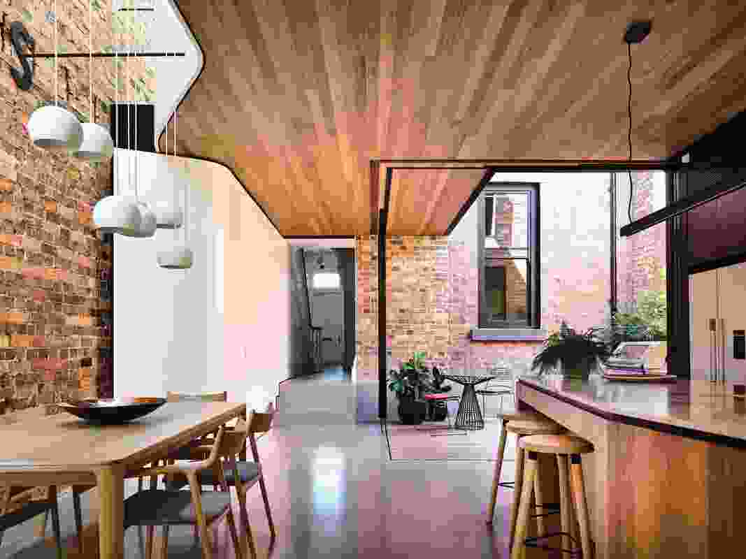 North Melbourne Terrace by Matt Gibson Architecture and Design.