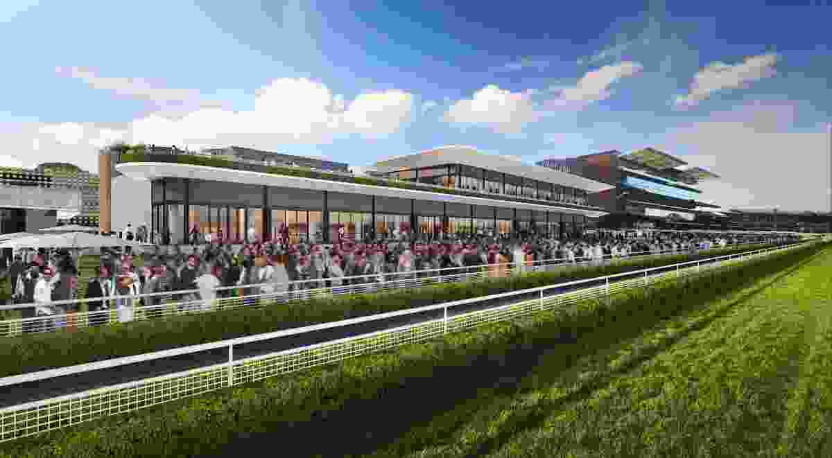 Royal Randwick Racecourse building designed by Cox.