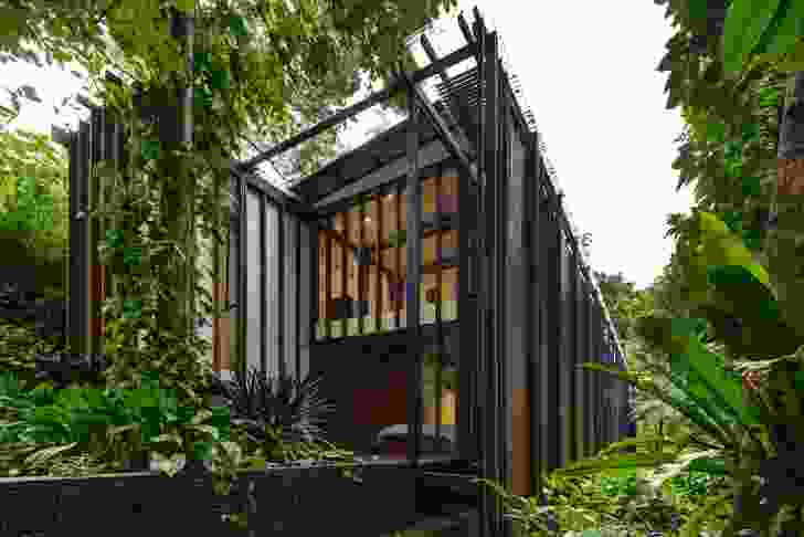 Bedrooms for the children are accessed via the sole internal staircase, offering protected night-time passage.