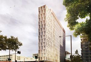 Adelaide micro-hotel by Woods Bagot.