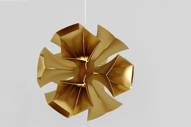 Shortlisted / Concept: Cypress Pendant Lamp by Edward Linacre Design.
