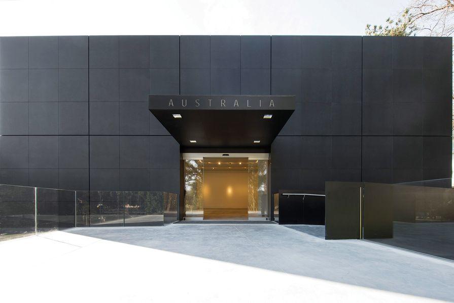 Australian Pavilion, Venice by Denton Corker Marshall.