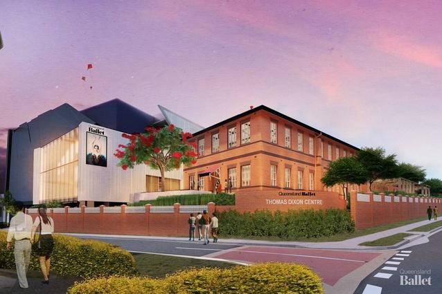 Preliminary design of the redeveloped Thomas Dixon Centre.