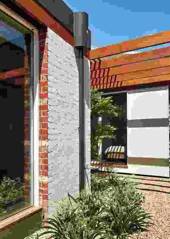"""A """"chequerboard"""" of courtyards and alcoves punctuates the plan of the house."""