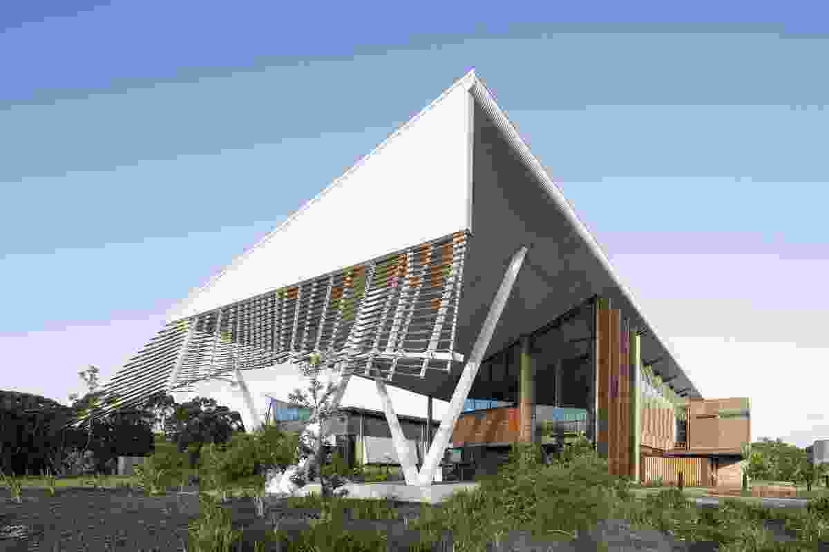 Sustainable Buildings Research Centre (SBRC) - University of Wollongong by Cox Richardson.