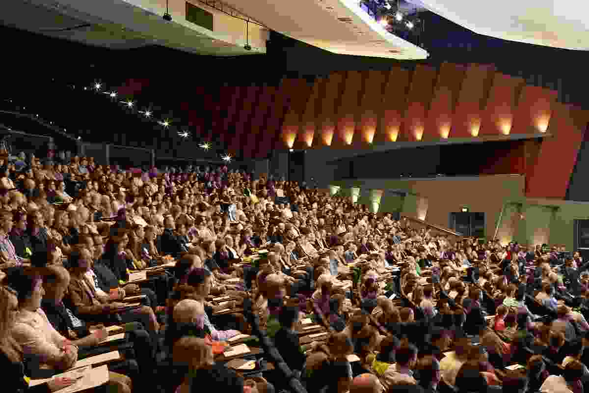Full house at the Perth Convention Centre for the Making 2014 conference.