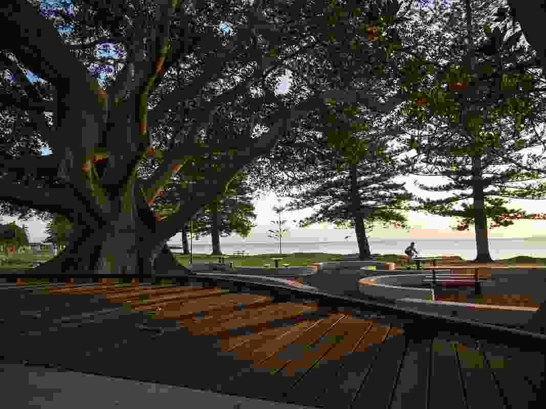 Scarborough Beach Park Park Southern Upgrade by Aspect Studios.