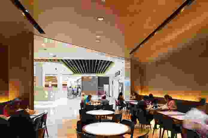 Canberra Centre Food Court by Cox Architecture.