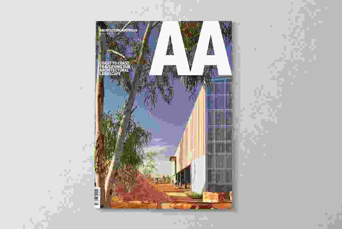 Architecture Australia January/February 2017.