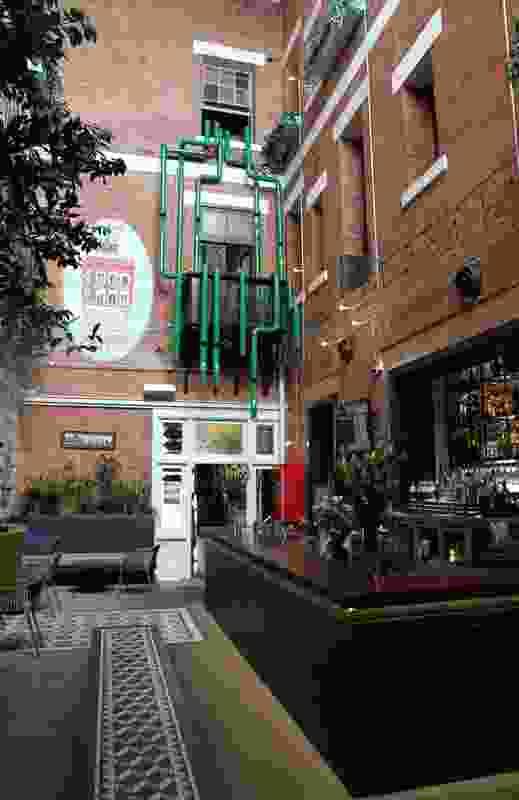 The Fox Hotel Heineken Installation by Design Clarity.