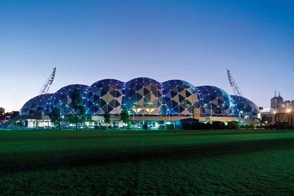 AAMI Park by Cox Architecture.