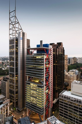 8 Chifley Square by Rogers Stirk Harbour and Partners and Lippmann Partnership.