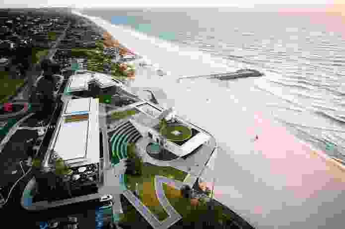 City Beach Surf Club and Commercial Development by Christou Design Group