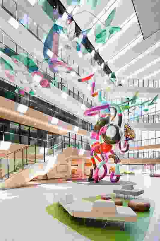 The Royal Chilldren's Hospital – Billard Leece Partnership and Bates Smart