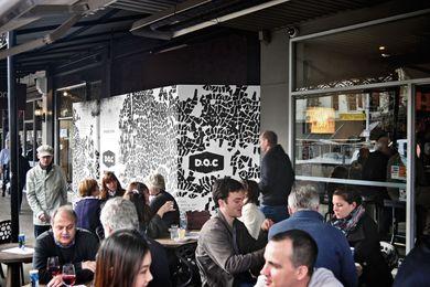 D.O.C Italian pizzeria in Carlton.
