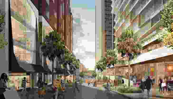 9-17 Young Street mixed use building at Quay Quarter designed by SJB.