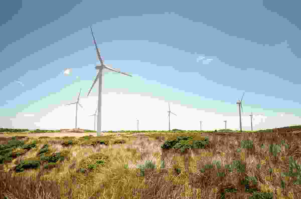 Windfarms are typically located in areas with consistently high winds, proximity to existing energy infrastructure and availability of accessible land.