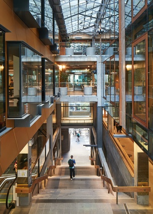 New Academic Street, RMIT University by Lyons with NMBW Architecture Studio, MvS Architecture, Harrison and White and Maddison Architects.