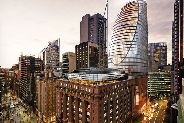 Macquarie Group's unsolicited proposal for Martin Place, designed by Grimshaw and Johnson Pilton Walker.