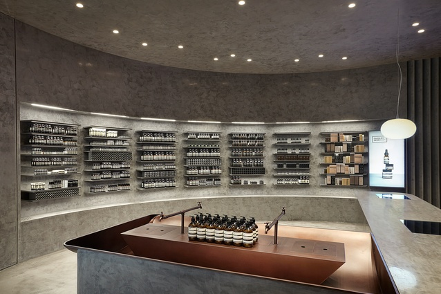 Aēsop IFC Seoul by Russell & George.