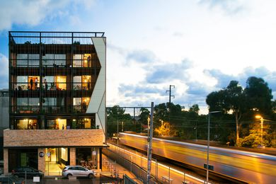 Located in the Melbourne suburb of Brunswick, The Commons is a twenty-four unit residential development conceived as a vertical community.