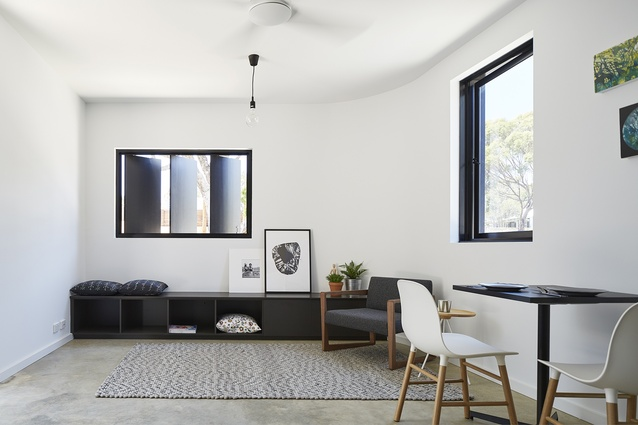 The interiors are simple, and although each apartment is different to the other, each is equally light and airy.