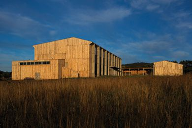 Tarremah Hall by Morrison & Breytenbach Architects.