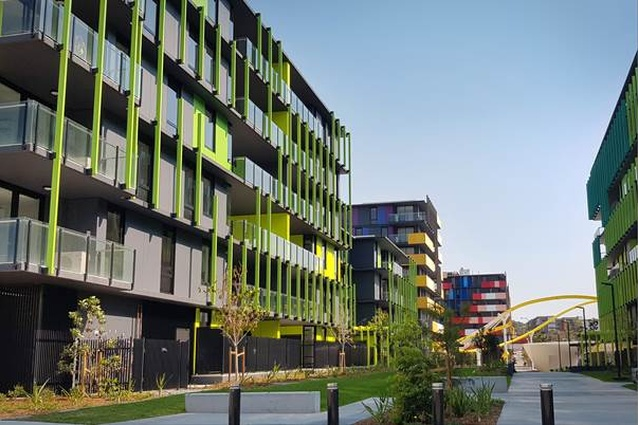 Parklands Project by AAA - a joint venture between architects Arkhefield, ARM and Archipelago.