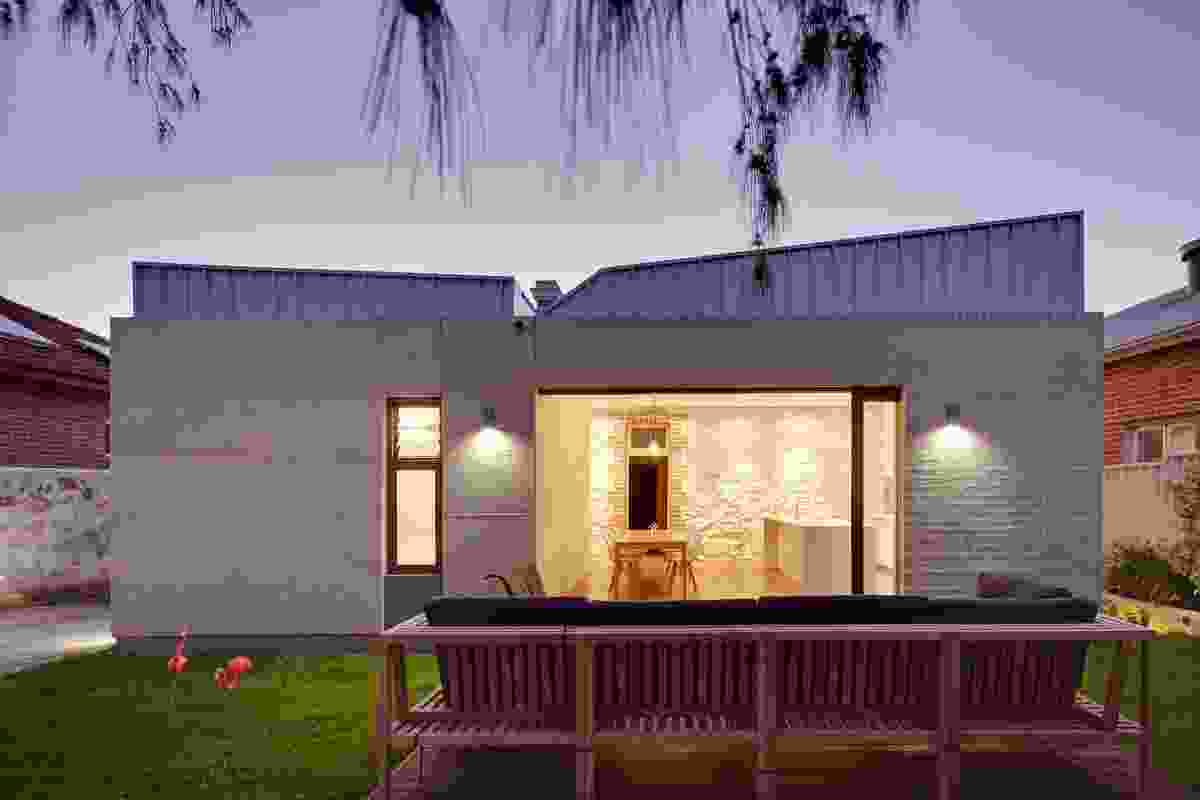 Fremantle Additions by Jonathan Lake Architects.