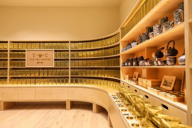 The Tea Centre by McCartney Design.